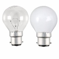 Status 40W BC B22d Incandescent Round Golf Ball Light Bulb