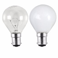 Status 40W Small Bayonet Cap Golf Ball Bulb