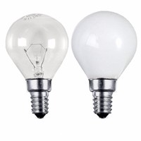 Status 40W SES E14 Incandescent Round Golf Ball Light Bulb