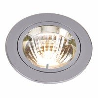 KnightsBridge MR16 Die-Cast 50mm 12V Low Voltage Fixed Downlight (Option: Polished Chrome)