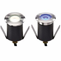 IP65 1W LED Mini Walk & Drive Over Ground Light by KnightsBridge