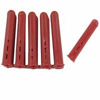 Zexum Red Plastic 4-5mm Rawl Wall Plugs