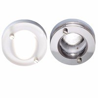 KnightsBridge IP65 GU10 Decorative Bathroom Downlight