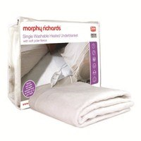 Morphy Richards 75187 Single Polar Fleece Top Washable Heated Underblanket