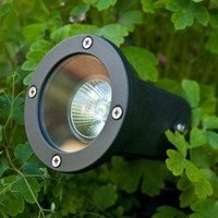 KnightsBridge GU10 50W IP54 Adjustable Spike & Wall Garden Light
