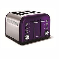 Morphy Richards Plum Accents 4 Slice Toaster