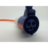 Zexum 2.5mm 16A Orange Mains Hook Up Extension Cable