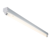 KnightsBridge T8 36W High Frequency Fluorescent Steel Batten Fitting