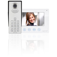 Aperta Single Way Colour Video Door Entry System Kit With Keypad by ESP