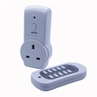 Status 20M Eco Remote Switch Control Mains Power Plug Socket