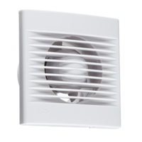 "KnightsBridge 4"" Axial Wall & Ceiling Extractor Fan With Timer"