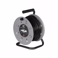 SMJ 4 Gang 50m Heavy Duty Cable Reel with Thermal Cut Out