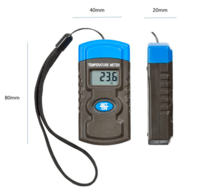 KnightsBridge Digital Mini Temperature Meter With Strap