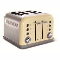 Morphy Richards Accents 4 Slice Toaster Special Edition - Sand