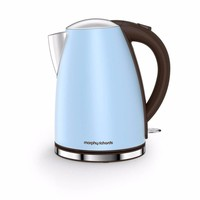 Morphy Richards Azure Blue Accents 1.7 Litre Jug Kettle