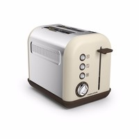 Morphy Richards Accents 2 Slice Toaster - Sand