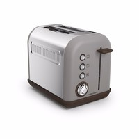 Morphy Richards Pebble Grey Accents 2 Slice Toaster