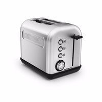 Morphy Richards Accents 2 Slice Toaster - Brushed Stainless Steel