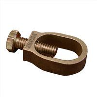 "Zexum 5/8"" Copper Earthing Cast Clamp Connector"