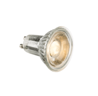 KnightsBridge 5W LED Glass GU10 Bulb