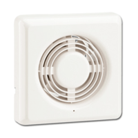 "Greenbrook 4""/100mm Axial Extractor Fan - Square"