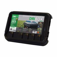 Dribox Weather proof IP55 power cord connection box 285mm black