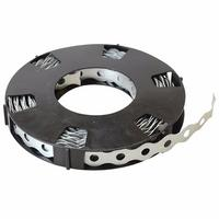Zexum 12mm Galvanised Fixing Band - 10 Meter