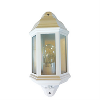 Greenbrook 42 Watt Half Lantern with 140º PIR