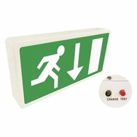 Eterna Maintained LED Emergency Exit Box Sign