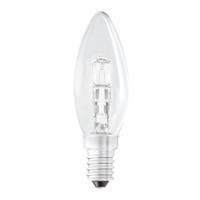 Status 42W SES Small Edison Screw Cap Halogen Candle Bulb