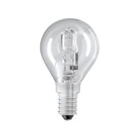 Status 28W SES Small Edison Screw Halogen Round Bulb