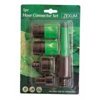 Zexum 5 Piece Hose Connector Set