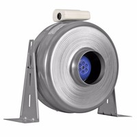 Xpelair 100mm Centrifugal Metal Inline Duct Fan