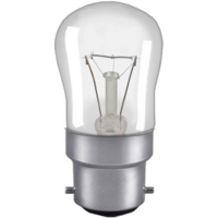 15W Bayonet Cap Pygmy Sign Bulb - Clear by Crompton