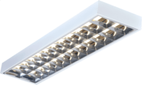 KnightsBridge 2x58W 5ft T8 Surface Mounted Fluorescent Fitting
