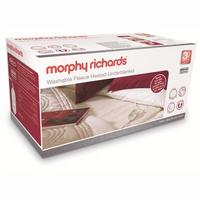 Morphy Richards King Size Washable Heated Fleece Underblanket