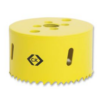 C.K Tools  86mm Diameter High Speed Steel Hole Saw