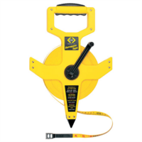 C.K Tools Wind-up Surveyor Hand Held Measuring Tape