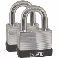 Kasp 40mm Laminated Steel Outdoor Padlock