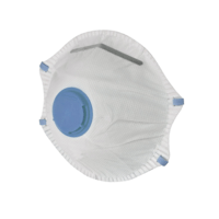 Avit Disposable Workman's Dust Mask with Valve