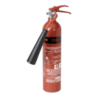 Sealey Portable Carbon Dioxide Fire Extinguisher