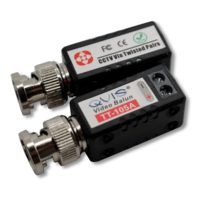 OYN-X BNC to Cat5 Video Balun for HD CCTV (Pair)