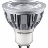 Crompton LED GU10 5W Energy Saving Dimmable COB Spotlight