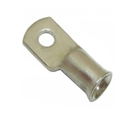 Zexum 10mm Copper Tube Lug Ring Terminal With 185mm Cable Entry