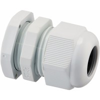 Zexum PG13.5 IP68 Nylon Cable Gland with Locknut