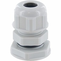 Zexum PG9 IP68 Nylon Cable Gland with Locknut