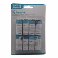 Hadley 8pc Paper Ceiling Hanging Fly Killer Set