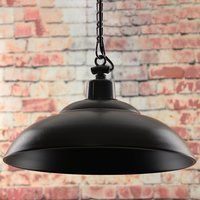 Greenhall Lighting Red Deer Traditional Rustic Iron Hanging Ceiling Light