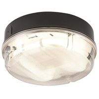 KnightsBridge 16W IP65 Round Bulkhead With Prismatic Diffuser