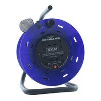 Zexum 20M 4G Extension Reel on Metal Frame